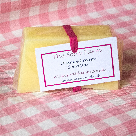 Orange Cream Soap Bar
