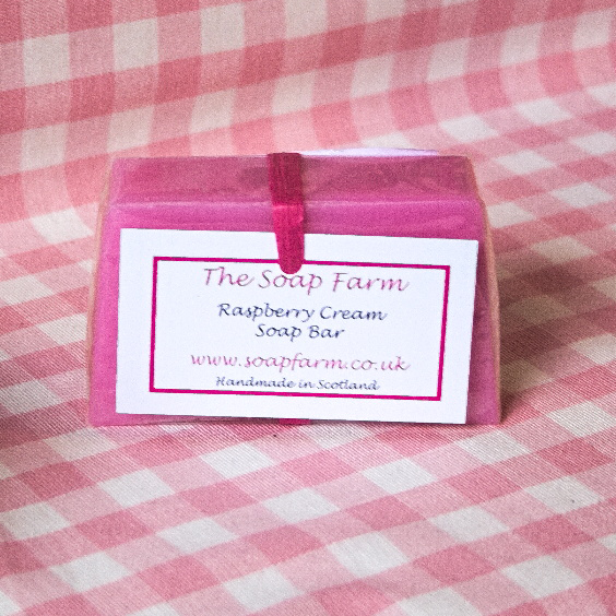 Raspberry Cream Soap Bar